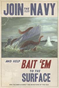 Sub Squid Navy by Steve Thomas