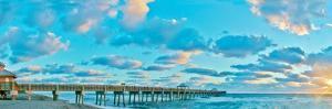 Sunrise on Juno Beach by Steve Vaughn