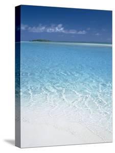 Aitutaki Lagoon, Aitutaki, Polynesia, South Pacific, Cook Islands by Steve Vidler