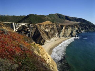 Bixby Bridge, Big Sur, California, USA by Steve Vidler