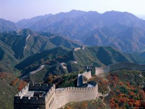 Great Wall at Badaling, Beijing, China by Steve Vidler