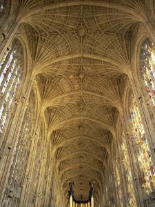 King's College Chapel, Cambridge, Cambridgeshire, England by Steve Vidler
