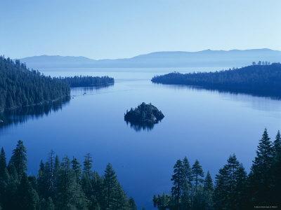 Lake Tahoe, Emerald Bay, Dawn , Tahoe, California, USA