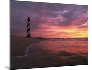 The 198-Foot Tall Lighthouse on Cape Hatteras by Steve Winter