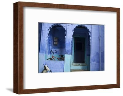 The Entrance to a Home in Jodhpur's Blue City