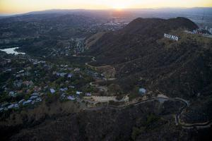 The Hollywood Sign and Griffith Park in Los Angeles by Steve Winter