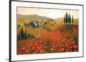 Hills of Tuscany II by Steve Wynne