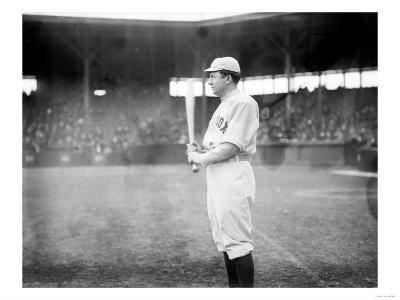 Steve Yerkes, Boston Red Sox, Baseball Photo - Boston, MA-Lantern Press-Art Print