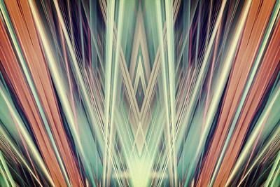Art Deco Spotlights Background
