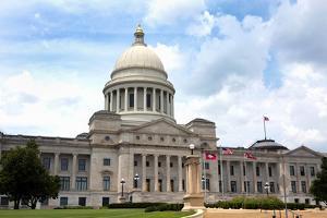Arkansas Capital Building by Steven Frame
