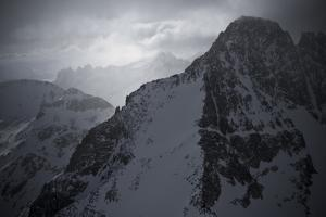 Montana's Highest Peak in Winter, Granite Peak by Steven Gnam