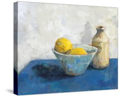 Two Lemons, Bowl and Jar