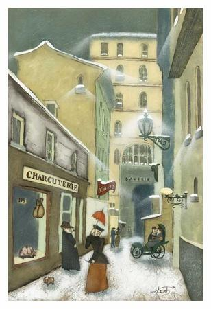 Street in Quebec 1912