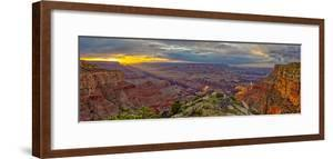 Grand Canyon view at sunset from the west side of Moran Point, Grand Canyon National Park, USA by Steven Love