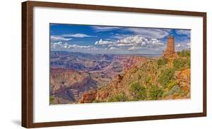 View of Grand Canyon west of the historic Watch Tower, managed by the National Park Service, USA by Steven Love