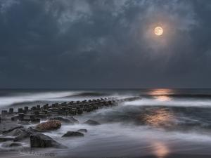 Atlantic Moonscape #1 by Steven Maxx