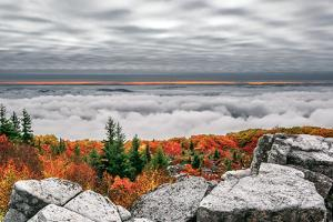 Dolly Sods Inversion by Steven Maxx