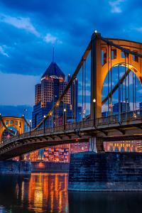 Pittsburgh Skyline by Steven Maxx