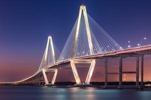 Ravenel Bridge by Steven Maxx