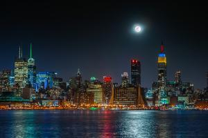 SuperMoon Wide by Steven Maxx
