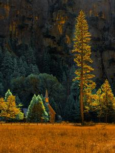 Yosemite Chapel by Steven Maxx