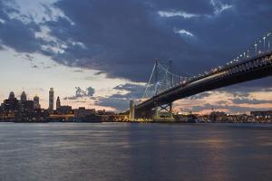 Philadelphia at Night by Steven Vona Photography