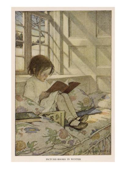 Stevenson Poems--Giclee Print