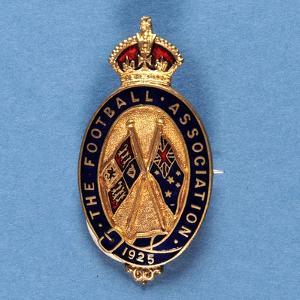 Steward's Badge from the Football Assocation, 1925