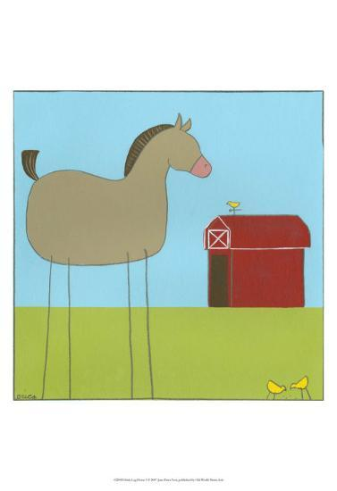Stick-Leg Horse I-Erica J^ Vess-Art Print