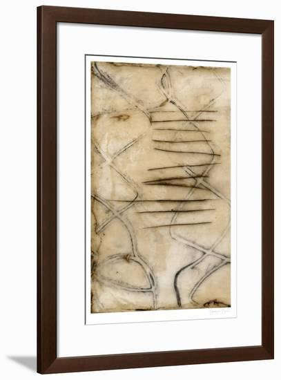 Sticks I-Jennifer Goldberger-Framed Limited Edition