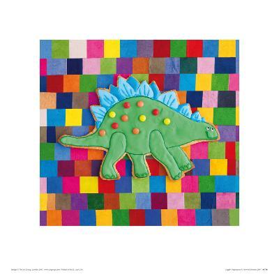 Stiggle Stegosaurus-Howard and Lauren Shooter and Floodgate-Giclee Print