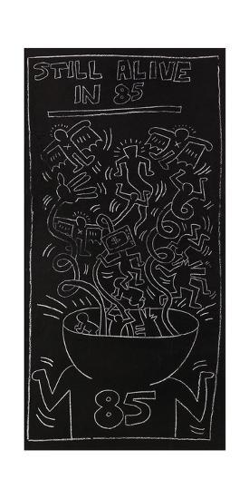 Still Alive in 85-Keith Haring-Giclee Print
