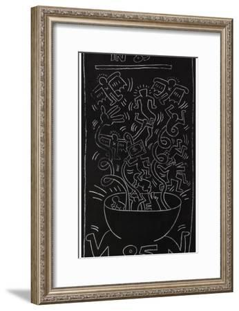 Still Alive in 85-Keith Haring-Framed Giclee Print