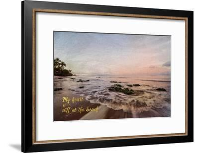 Still at the Beach-Ramona Murdock-Framed Art Print