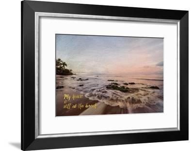 Still at the Beach-Ramona Murdock-Framed Art Print