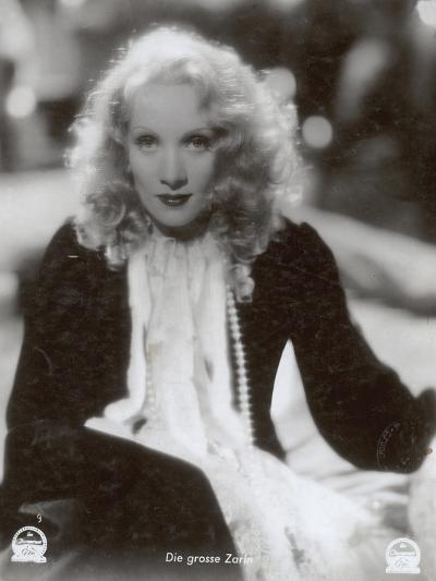 """Still from the Film """"The Scarlet Empress"""" with Marlene Dietrich, 1934-German photographer-Photographic Print"""
