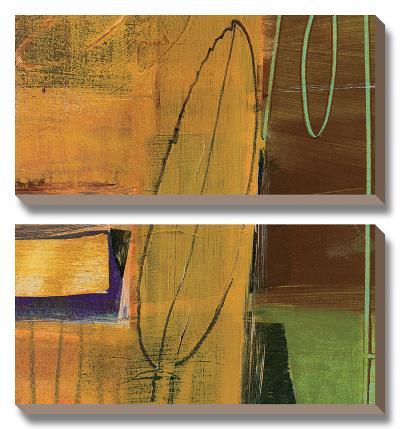 Still Leaf-Leslie Bernsen-Canvas Art Set