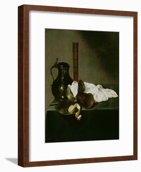 Still Life, 1637-Jan Jansz. den Uyl-Framed Giclee Print