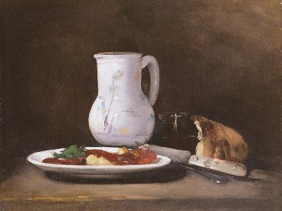 Still Life, 1861-Auguste Theodule Ribot-Giclee Print