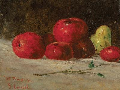 Still Life, Apples and Pears, 1871-Gustave Courbet-Giclee Print