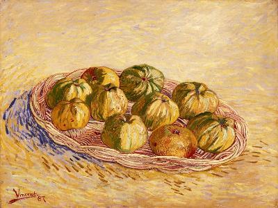 Still Life, Basket of Apples, Autumn 1887-Vincent van Gogh-Giclee Print
