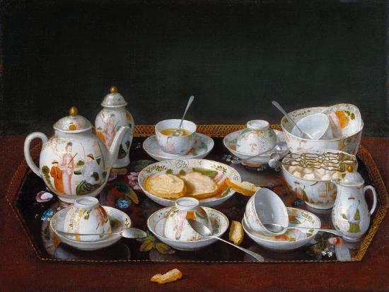 Still Life: Chinese Tea Set--Giclee Print
