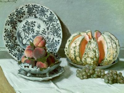 Still Life, circa 1876-Claude Monet-Premium Giclee Print