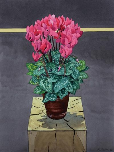 Still Life Cyclamen-Christopher Ryland-Giclee Print