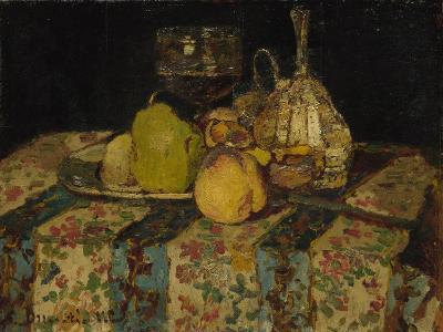 Still Life: Fruit, C. 1880-Adolphe-Thomas-Joseph Monticelli-Giclee Print