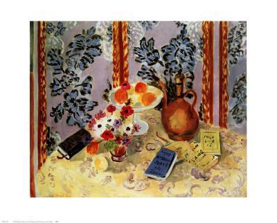 Still Life, Histoire Juives-Henri Matisse-Art Print