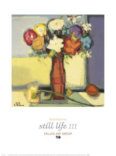 Still Life III-Elya de Chino-Art Print