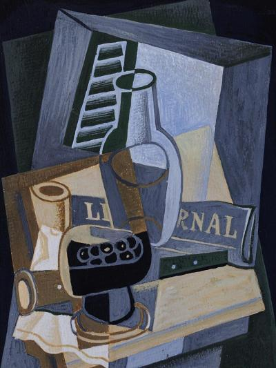 Still life in Front of a Window, 1922-Juan Gris-Giclee Print