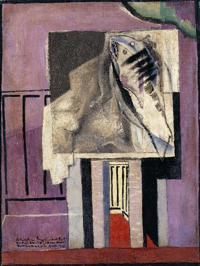 Still Life in Front of Balcony; Nature Morte Devant Le Balcon, 1929-Louis Marcoussis-Giclee Print