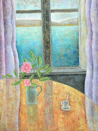 Still Life in Window with Camellia, 2012-Ruth Addinall-Giclee Print